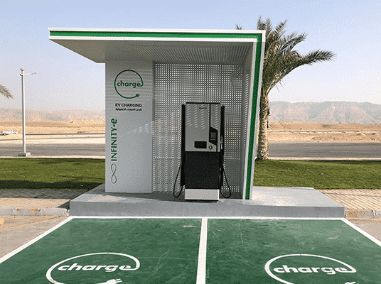 EGYPT: Infinity to invest $19 million for electric car charging stations© Infinity-E