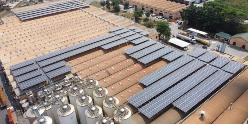 GHANA : CrossBoundary installe une centrale solaire dans une brasserie de Guinness © CrossBoundary