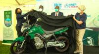 KENYA : le PNUE introduit ses premières motos électriques dans le transport urbain© PNUE