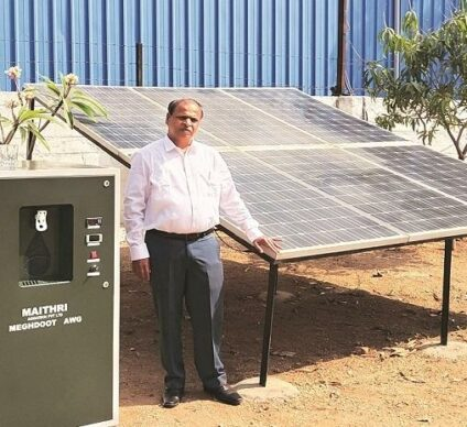 AFRICA: Contec joins forces with Maithri to produce water from air ©Maithri Aquatech