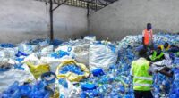 "DRC: ""Kintoko"" initiative to collect 50 tonnes of plastic per day ©OK PLAST"