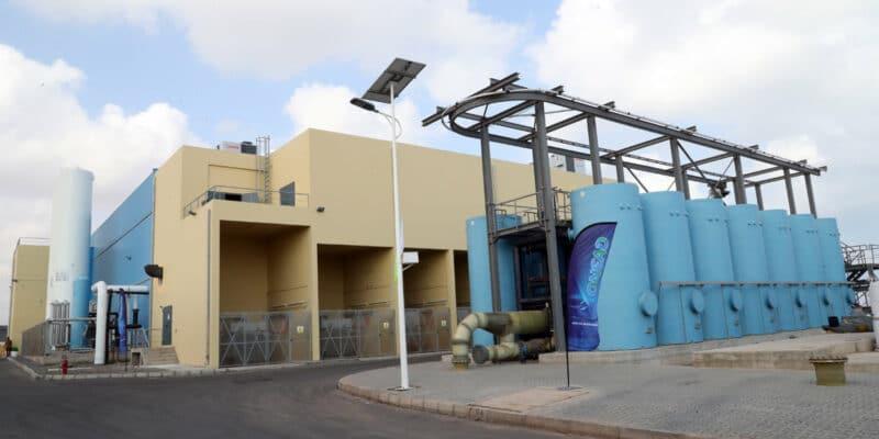 DJIBOUTI : Eiffage et Tedagua livrent une usine de dessalement à l'énergie éolienne©Présidence de la République de Djibouti