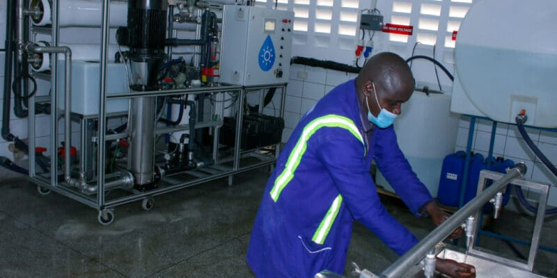 KENYA: Boreal inaugurates solar-powered desalination systems in Mombasa© Boreal Light