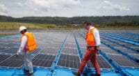 KENYA: ecoligo connects floating solar power plant to Rift Valley Roses Farm© Ecoligo