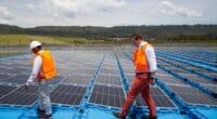 KENYA : ecoligo connecte une centrale solaire flottante à la ferme de Rift Valley Roses© Ecoligo