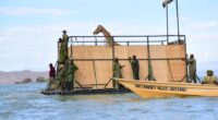 KENYA: Rescue mission of 9 Rothschild's giraffes in north-western Kenya ends © Save Giraffes Now