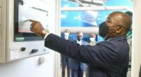 GABON: Ali Bongo inaugurates a drinking water plant in Ntoum for 32,500 households ©Presidency of the Republic of Gabon