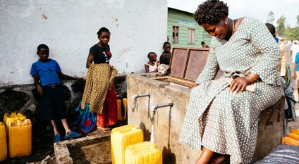 DRC: London funds clean water for one million people in Kivu©British Embassy in DRC