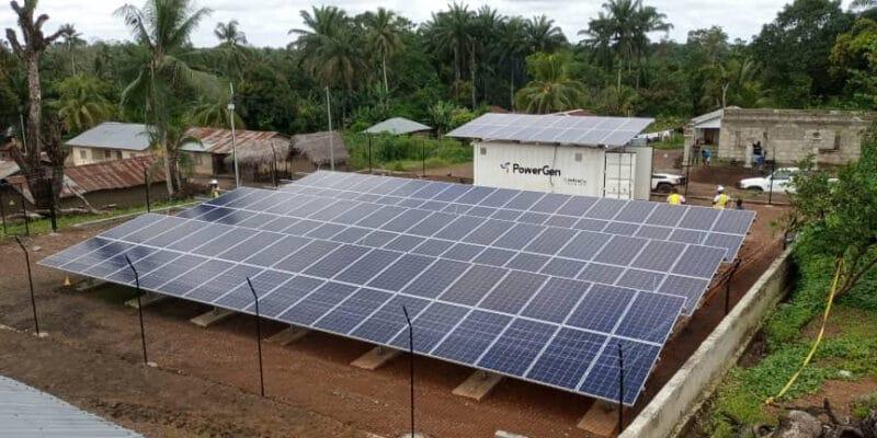 SIERRA LEONE: PowerGen connects solar mini-grids for 4 rural communities © PowerGen