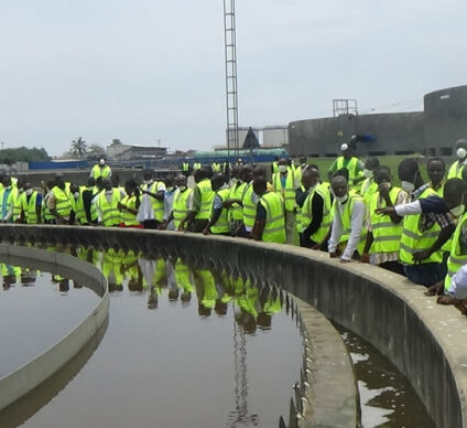 GHANA: EMO Launches Expansion of Accra Sewerage Plant©SSGL