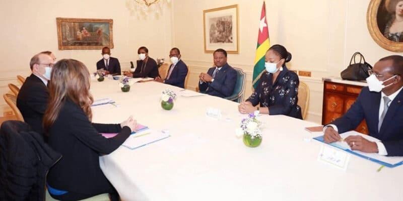 TOGO : Faure Gnassingbé obtient 115 M€ pour l'électrification et l'éclairage public © Présidence de la République Togolaise