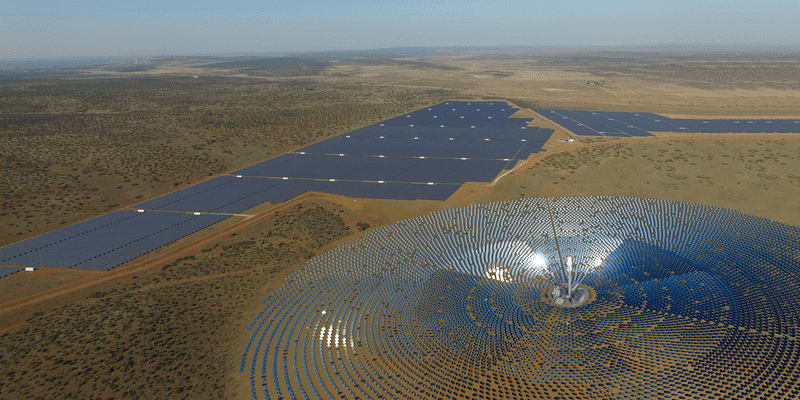 SOUTH AFRICA: Acwa Power raises $498m for its Redstone concentrated solar power plant © Acwa Power