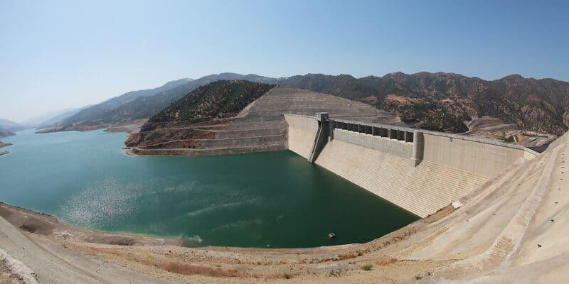 ALGERIA: the drop in the level of the Koudiet Asserdoune dam puts 4 wilayas at risk©Razel-Bec