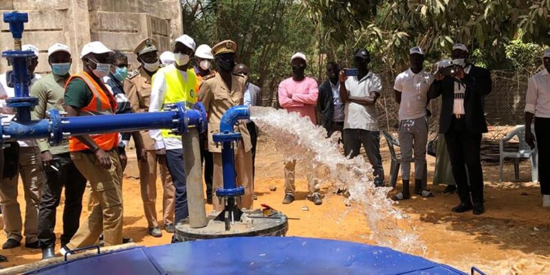 SENEGAL: Sones connects 60,000 people to the Sen'Eau water network in Nguékhokh©Sones