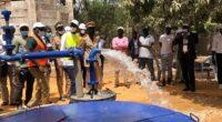 SÉNÉGAL : la Sones raccorde 60000 personnes au réseau d'eau de la Sen'Eau à Nguékokh©Sones