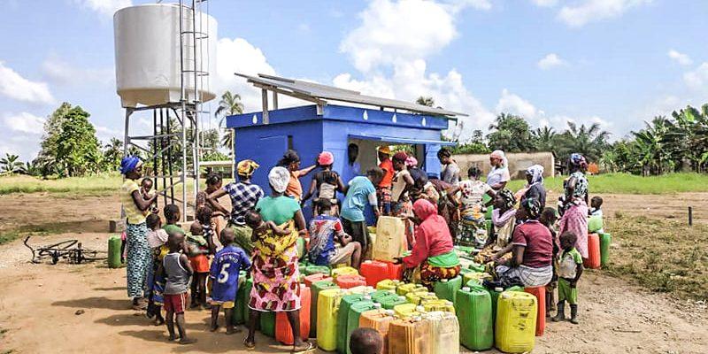 COTE D'IVOIRE : Vergnet Hydro va équiper 1000 forages de pompes solaires©Vergnet Hydro