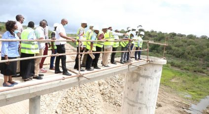 KENYA: A new dam to supply water to 40,000 people in Kinango©Kenyan Ministry Of Water &Sanitation and Irrigation