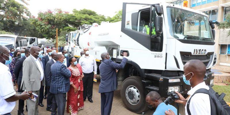 KENYA: NCWSC strengthens sanitation in Nairobi with new equipment© Kenyan ministry of Water &Sanitation and Irrigation