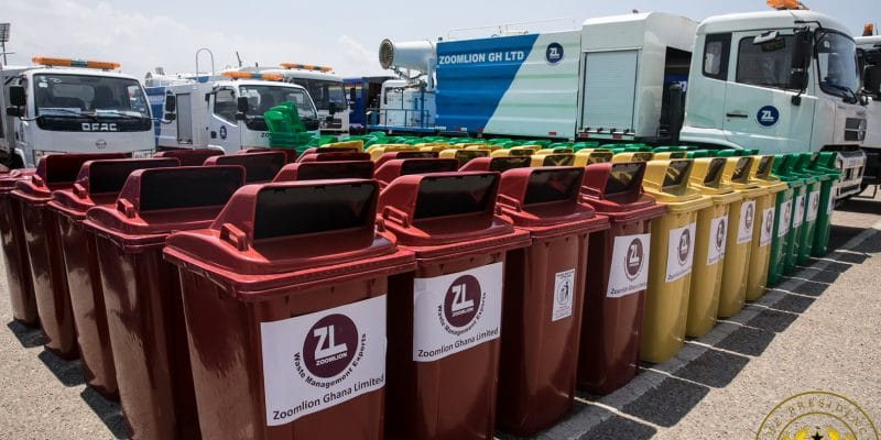GHANA: Zoomlion boosts its operational performance with 101 refuse trucks ©Presidency of the Republic of Ghana
