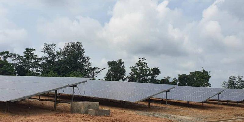 GABON : Ausar livrera la centrale solaire hybride (400 kW) de Ndjolé en juillet 2021©Ministère gabonais de l'Energie et de l'Eau