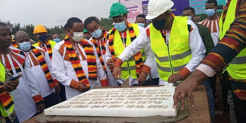 ÉTHIOPIE : Addis-Abeba construit un barrage sur la rivière Anger, un affluent du Nil © Gouvernement éthiopien