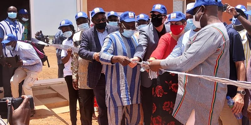 BURKINA FASO: a new drinking water plant serves the town of Dori©Onea