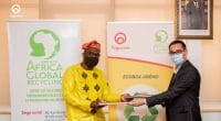TOGO: Togocom partners with Africa Global Recycling for waste recycling©Togocom
