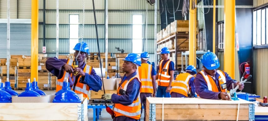 AFRICA: A Chair to train executives in the water and sanitation sector © Sunshine Seeds/Shutterstock