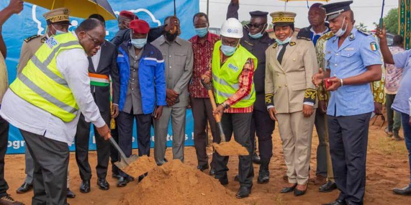 COTE D'IVOIRE : le gouvernement renforce l'approvisionnement en eau dans le Sud-Comoé©Ministère ivoirien de l'Hydraulique