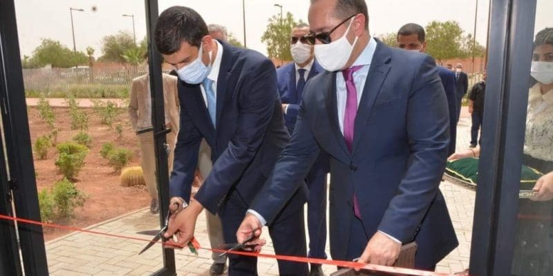 MOROCCO: a production line for EV charging stations inaugurated in Benguerir© Iresen