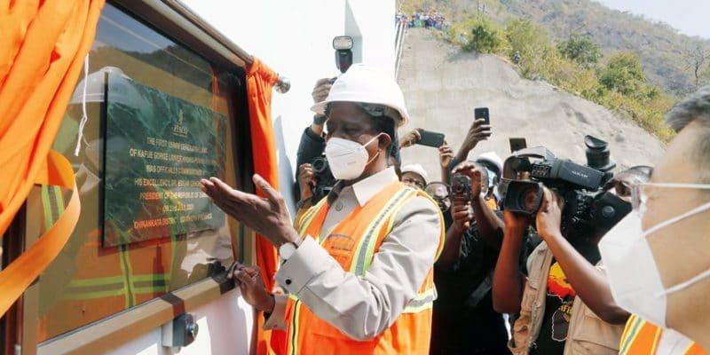 ZAMBIE : Sinohydro met en service l'unité I de la centrale hydroélectrique de Kafue©STATE HOUSE ZAMBIA