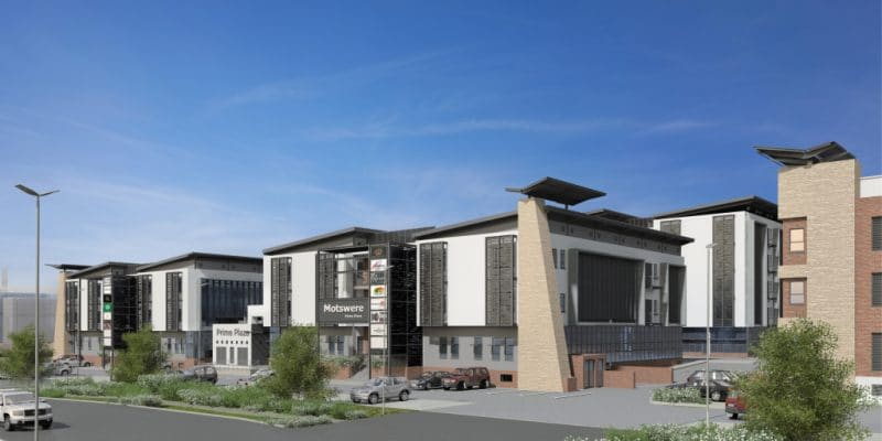 BOTSWANA: Prime Plaza awarded 'Green Star' for its green construction ©GBCSA