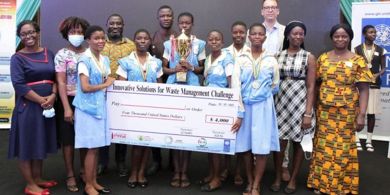 GHANA: UNDP supports innovation for waste management in schools©UNDP