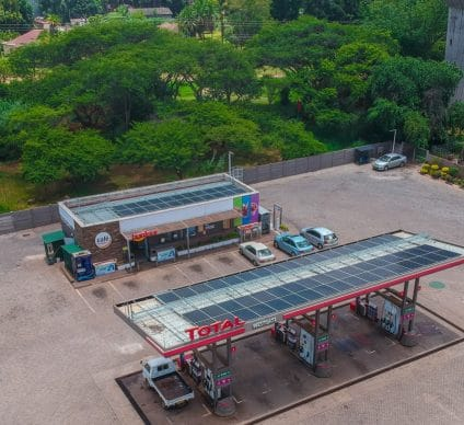 ZIMBABWE: DPA to harness solar power for 15 Total service stations © DPA