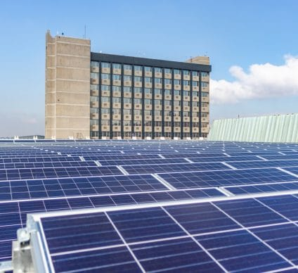 ZIMBABWE: Old Mutual bets on self-consumption with a 648 kWp solar plant© RWThomas/Shutterstock