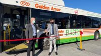 SOUTH AFRICA: Golden Arrow introduces electric buses to its fleet in Cape Town© Golden Arrow