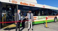 AFRIQUE DU SUD : Golden Arrow introduit des autobus électriques dans sa flotte au Cap© Golden Arrow