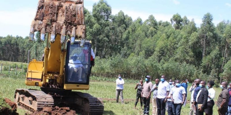 KENYA: Two water dams for farmland irrigation in Migori ©Migori County Government