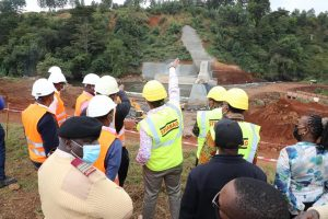 KENYA: Thiba irrigation dam to provide water by end of November 2021©Kenyan ministry Of Water &Sanitation and Irrigation