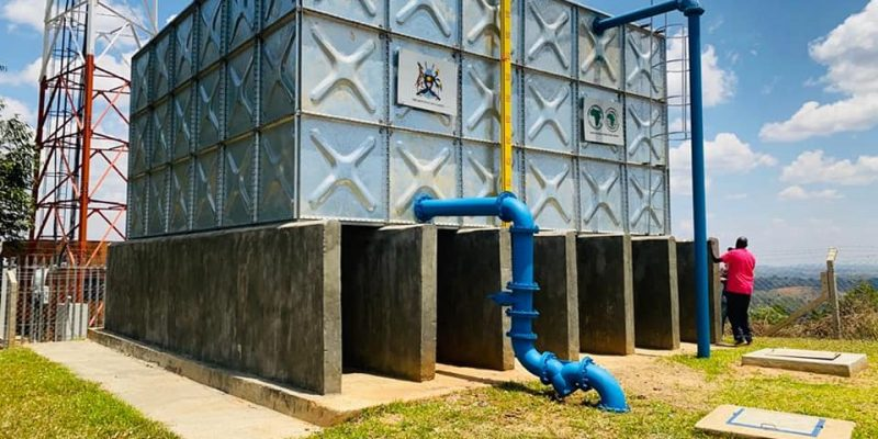 UGANDA: New water supply for 35 villages in the Central Region©Ugandan Ministry of Water and Environment