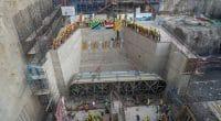 TANZANIE : le barrage de Stiegler's Gorge fournira ses premiers MW en juin 2022 ©Tanesco Yetu