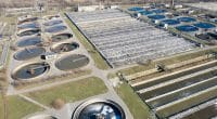 Maghagha wastewater treatment plant in Egypt © Anzay/Shutterstock