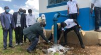 UGANDA: A new drinking water supply system supplies 28,500 people in Moyo©Ministry of Water and Environment in Uganda