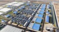 ÉGYPTE : Elsisi inaugure la plus grande station d'épuration du monde à Bahr El-Baqar©Guinness World Records
