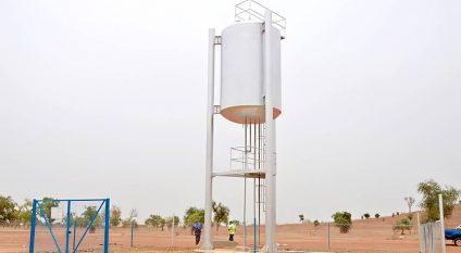 BURKINA FASO: 2000 people connected to a drinking water supply in Komsilga©Burkina Faso Ministry of Water and Sanitation