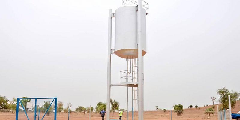 BURKINA FASO : 2000 personnes raccordées à une adduction l'eau potable à Komsilga©Ministère burkinabè de l'Eau et de l'Assainissement