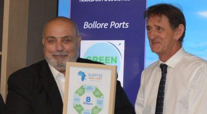 GHANA : Meridian Port Services obtient le label «Green Terminal» de Bolloré Ports©Meridian Port Services