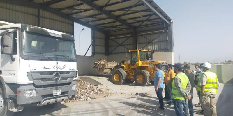 EGYPT: Two solid waste transit stations inaugurated in Asyut©Egyptian Ministry of Environment