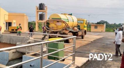 CAMEROON: A sewage sludge treatment plant is built in Yaoundé© IEC-PADY 2