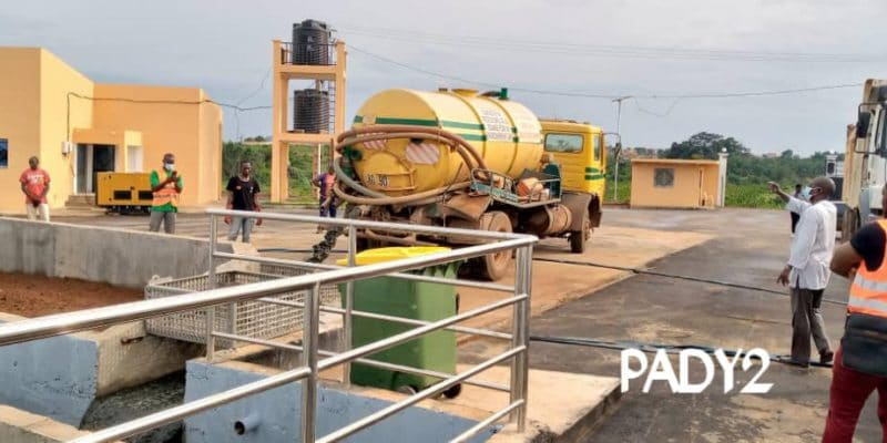 CAMEROUN : une station de traitement des boues de vidange voit le jour à Yaoundé© IEC-PADY2